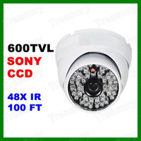 Cheap Outdoor Vandal Dome Camera Best CCD Color: White CCTV Security Camera