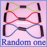 Wholesale Body Fitness Pilates Yoga Resistance Band Tube Exercise Training Workout Tool