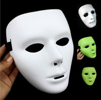 Wholesale Hip hop Mask Hip hop JabbaWockeeZ Blank Male and Female Face Mask Halloween Party Mask