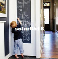 Wholesale Removable Vinyl blackboard sticker creative writing DIY chalkboard card easy to do and without hurt wall