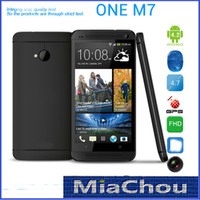 Wholesale HDC One M7 MTK6589 Quad Core Inch Android Smart Cell Phone WCDMA G GSM GB MP Camera