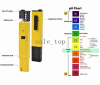 Wholesale Pieces Digital PH Meter Tester Pocket Pen Aquarium Pool Water Screwdriver