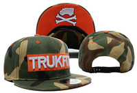 Wholesale 1pcs TRUKFIT Logo Army Snapbacks Men s Trukfit hats Casual Caps Team Hats Baseball Caps Sports Hats Street cap Factory Prices