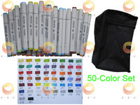 BCDS (Business Colour Design System) alcohol fountain - 50 Color Finecolour Sketch Marker Set a quarter price of Copic Colors stroked by actual markers alcohol based International