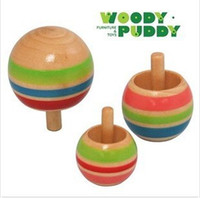 Wholesale Baby Toys Packs Learning toys Wooden toys Gyro Toddler Christmas gift
