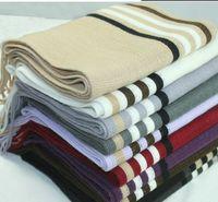 Wholesale Scarf Lovers Knitting Men Wool Wraps Shawl Stole Scarves Lady Women s Big Long