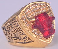 Mexican best bulls - 1993 Bulls Championship Basketball Ring Replica size US best gift for fans collection High Quality