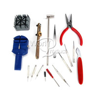 Wholesale Repair Tools Set Kit Repair Tools Horologe Wrist Watch watchmakers Case Opener000492