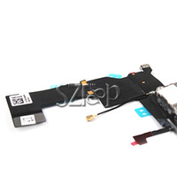Wholesale Charging Charger Dock Connector Port Flex Cable with Headphone Audio Jack Ribbon Black Charging Port for APPLE iPhone S
