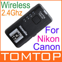Wholesale 2 Ghz T320RX Wireless Flash Trigger Single Receiver Auto sensing TTL Pass through Universal for Canon Nikon Camera D892