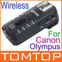 Wholesale CE G430CR GHz Wireless amp Grouping Flash Trigger Single Receiver TTL Pass through for Canon Olympus Camera D893