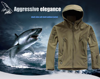 Running Unisex Synthetic Lurker Shark skin Soft Shell Outdoor Military Tactical Jacket Waterproof Windproof Sports Army camouflage clothing ACU CP