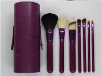 Wholesale Hot sell Set Professional Makeup Cosmetic Brush Set Kit Tool With cylinder box