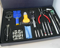 Wholesale 20pcs sets Watch Repair Tools Super combo Tools Watch Maintenance Tools Repair watch band Watches