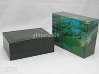 Wholesale Watchs Wooden Boxes Gift Box green Wooden Watchs Box Men s Watches box leather Watchs Box