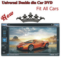 Wholesale New Design Universal Double Din Car Dvd Player Gps Navigation Audio Radio Stereo BT Analog TV Digital Touch Screen