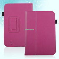 7'' For Apple For Ipad 2/3 EP4923 PU Leather Magnetic Case Cover Stand Holder For Barnes & Noble Nook HD 7 Inch