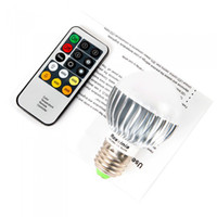 Wholesale 100 V W E27 Bright Remote Control Color Temperature Changeable Adjustable LED Light Bulb Lamp