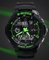 Sport Unisex Diver Brand New Sports Digital Watch Wrist Watch LED Watch Japan Double movement Swimming 30Meter waterproof 5 Colors