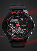 Sport Unisex Diver Swimming Wrist Watch LED Watch Sports Digital Watch Japan Double movement Swimming 30Meter waterproof 5 Colors 20pcs lot