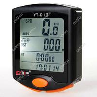 Warterproof bicycle speedometers - S5Q LED Display Cycling Bicycle Bike Functions Computer Odometer Speedometer AAACFJ