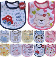 Wholesale Infant Saliva Towels layer Baby Bibs Waterproof Bibs Carter Styles Kids Feeding Accessories