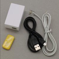 Wholesale Supper Mini Telephone Recorder Micro SD Card Phone Voice Recorder TEL01 H780