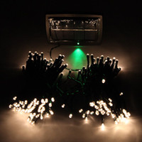 Wholesale 200 LED Solar String Light Christmas Wedding Party Garden Tree Decor Fairy Light Warm White