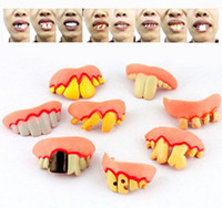 best dentures - Best price Terrible Funny Goofy Fake Rotten Teeth Halloween Party Favor Creepy Dentures