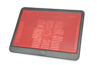 Wholesale Neverland Dual Mute Red And Black Laptop Cooling Pads Brand New