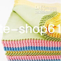 Wholesale Superfine fiber Glasses Cloth lens Cleaning Cloth sunglass cloth eyewear cloth Microfiber lens cloth