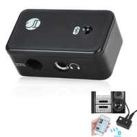 home stereo speaker - Wireless Bluetooth V2 Stereo Receiver Adapter BT AU01 Black For Home Stereo Speaker H507