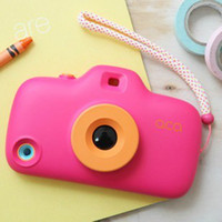 Wholesale 3D fashion Cute Korea Toy Digital camera Design Candy Color Hard PC back Case cover shell For Apple iPhone C AAAA In stock DD1297