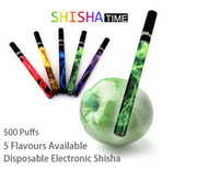 Electronic Cigarette Atomizer mix color Disposable Shisha Pens Shisha Pipes Sticks I Hookah Vapor Shisha Time 300pcs fast shipping