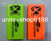 Wholesale thin puppy reader USB Tiny Puppy Card Readers Phone tf memory card reader