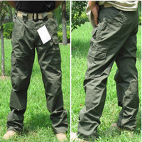 Wholesale Tactical Pro Waterproof Grid Pant Outdoor Sports Hiking Camping Military Trousers