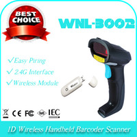 2.4G bar code mobile - 2 G WNL D laser cordless wireless handheld portable mobile bar code barcode scanner reader collector