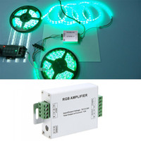 Wholesale DC V A LED RGB Signal Amplifier for SMD LED Light Strip