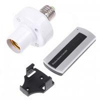 Wholesale E27 M Screw Remote Control Light Lamp Bulb Holder Cap
