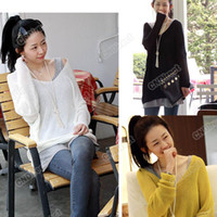 Women Cotton blended Round Sexy V-neck Oversized Batwing Slouchy Knitted Top Jumper Loose Sweater Pullover #7136