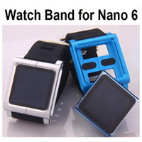 Wholesale LunaTik Muti Touch Watch Band for iPod Nano th gen Metal Aluminum Silicone Case Cover HKpost