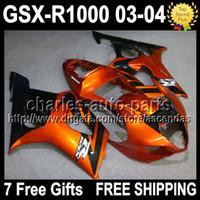 7gifts+ Seat Cowl For SUZUKI K3 03 04 GSXR1000 GSX R1000 Oran...