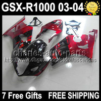 7gifts+ Seat Cowl For SUZUKI K3 03 04 GSXR1000 GSX R1000 Dark...