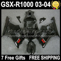 7gifts+ Seat Cowl For SUZUKI K3 03 04 ALL Black GSXR1000 GSX ...
