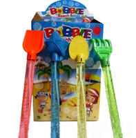 bubble toy - child beach toy Bubble blowing bubbles sword toys Shovel Sand Mold Beach Truck Toy Set for Child Beach toys Set
