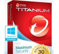 Wholesale Trend Micro Titanium Maxmium Security YEAR year