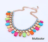 Wholesale Vogue Chunky Chain Chokers Luxury Necklace Jewelry for Women Lady Girl SF013