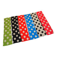 Wholesale Headbands NEW GirlPolka Dot Prints hairband quot wide Blend Headwraps X