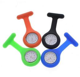 silicone nurse watch nurse pin watch silicon band pocket nurse watch 100pcs FOB price