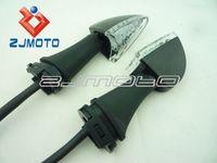 Cheap 2 pcs Motorcycle parts Amber LED Turn Signal Light Indicators Blinker Flashers For YAMAHA YZF R1 R6 FZ1 FZ6 Fazer XJ6 YBR 125 250